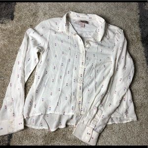 Forever 21 contemporary popsicle blouse XS